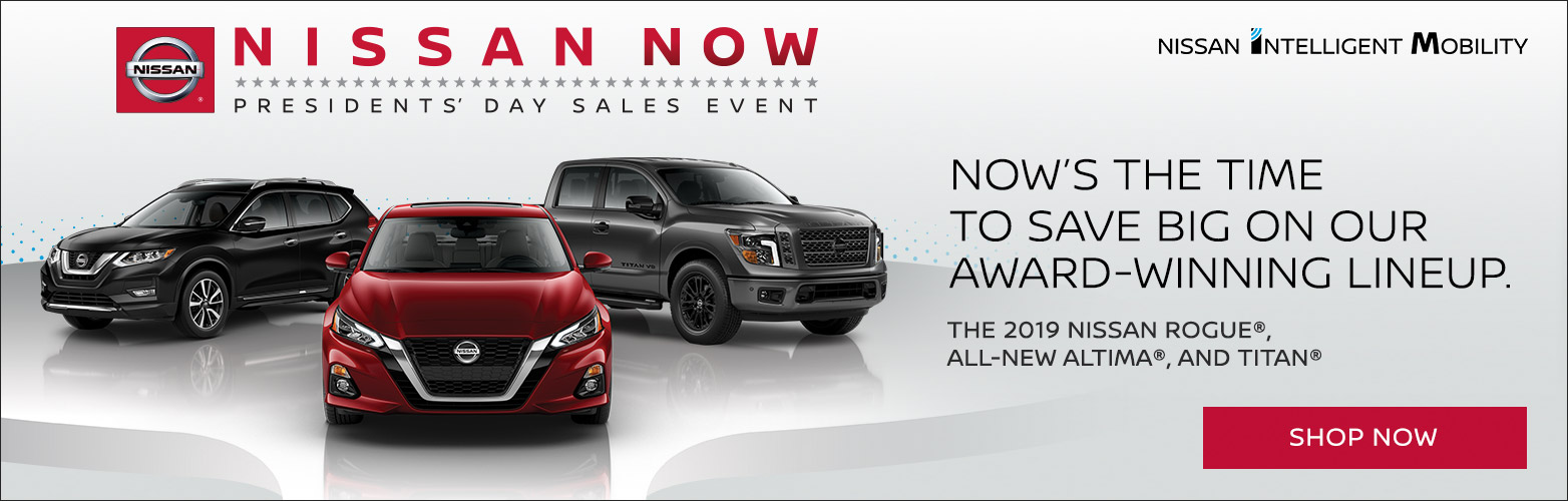 Year End Sales event nissan new suvs